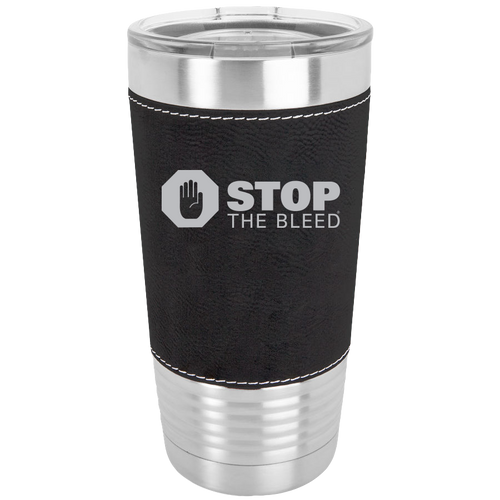 20 oz Leatherette Tumbler