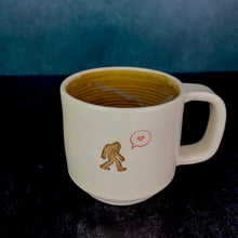 Load image into Gallery viewer, sasquatch mug with brown interior