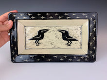 Load image into Gallery viewer, Trays and Serving Platters, Sgraffito carved.