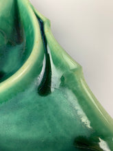 Load image into Gallery viewer, detatil photo of emerald city green glaze on a ceramic candy dish