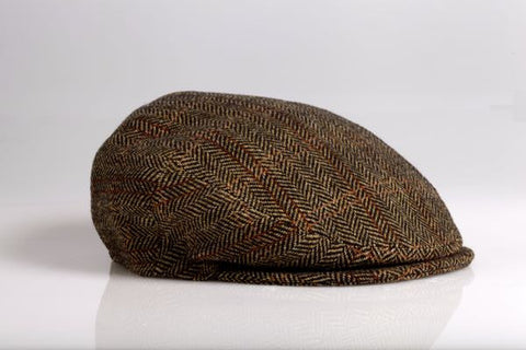 Brown/Black Wool Herringbone Longshoremen