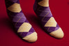 Argyle (Purple)