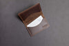"""Well Connected"" Business Card Holder (Brown)"