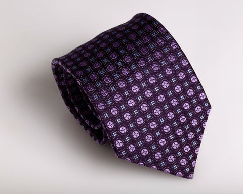 """Grape Fury"" Tie"