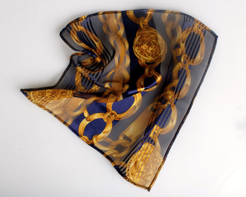 """The Izabella"" Pocket Square"