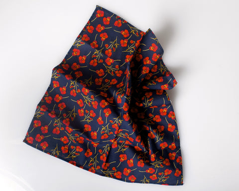 """The Nathalie"" Pocket square"
