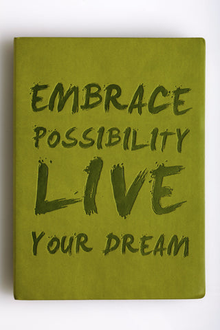 "Journal Essential ""Embrace Possibility"""