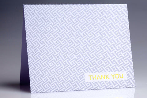 """Infinite Thanks"" Thank You Notes (Set of 12)"