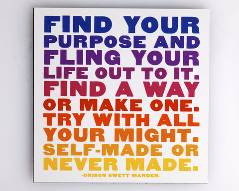 Find A Way - Quotable Magnets