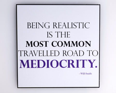 """Being Realistic"" Magnetic Motivation"