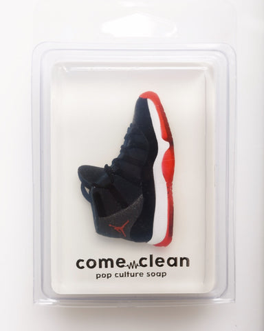 """Air Jordan 11 Bred"" Natural Soap (Sparkling Plum Scent)"