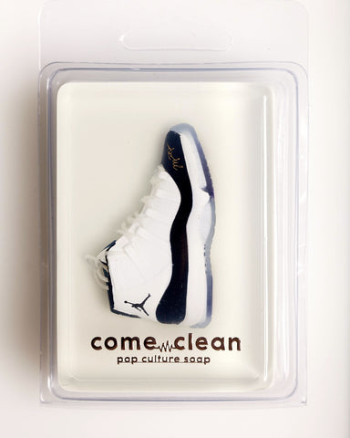 "Air Jordan 11 ""Concord"" Natural Soap (Sparkling Plum Scent)"