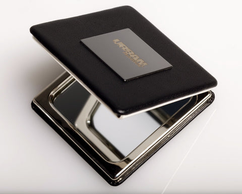 """First Lady"" Leather Compact Mirror"
