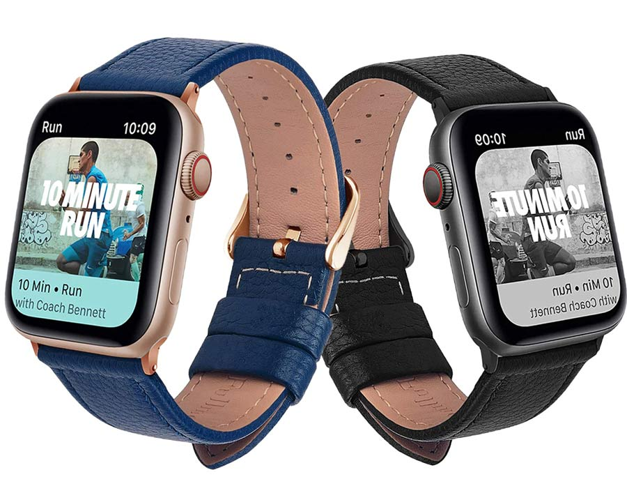 bracelet apple watch 44mm-42mm 40mm-38mm en cuir