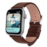 Bracelet apple watch en cuir Series 5/4/3/2/1 Sport Bracelet 44mm 42mm 40mm 38mm