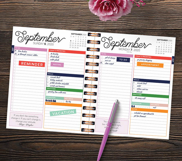 July - June 2021 Planner - Don't Touch!