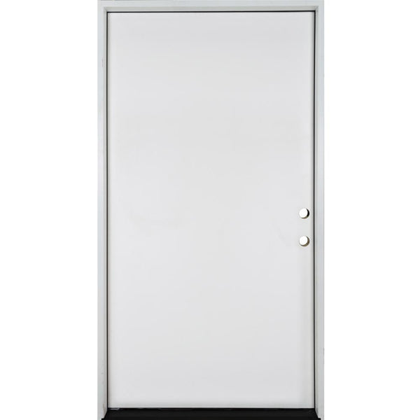 Belleville Smooth Fiberglass Flush Smooth Panel Door