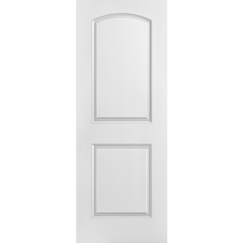 Interior Classic 2-Panel Arch Top Primed Door