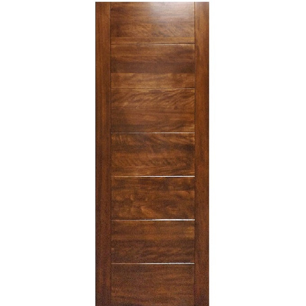 Cooper  - Modern Mahogany Wood Entry Solid Door