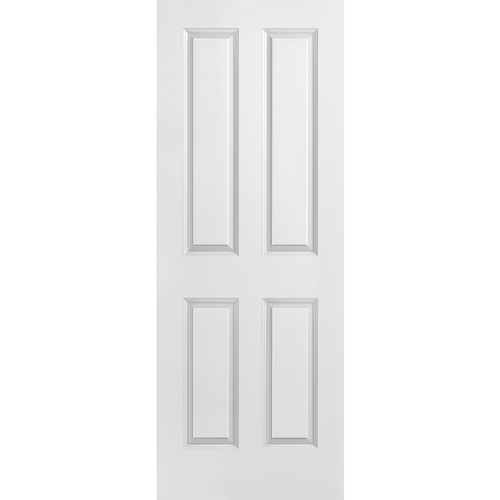 Interior Classic 4-Panel Square Primed Door