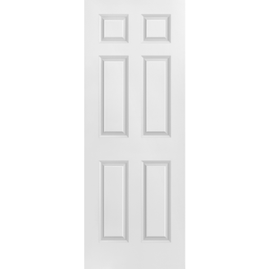 Interior Classic 6-Panel Square Primed Door