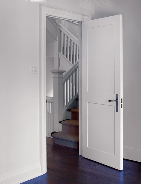 Interior Flat 2-Panel Shaker Primed Door