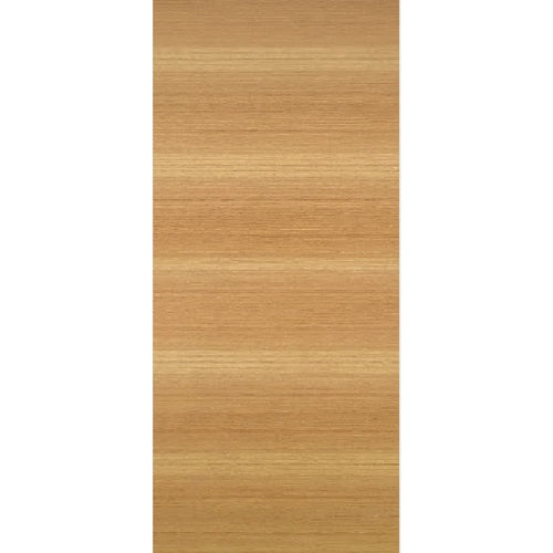 Paint Grade 20-Min Fire Rated Stain Grade Modern Flush Rift White Oak Horizontal Grain Door