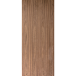 Flush Clear Finish Plain Sliced Black Walnut Commercial Fire Rated Door