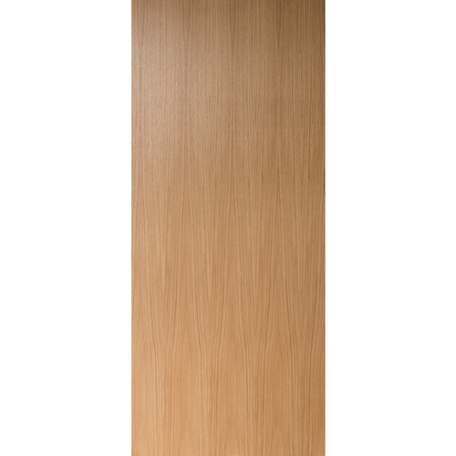 Flush Clear Finish Rift Cut White Oak Commercial Fire Rated Door