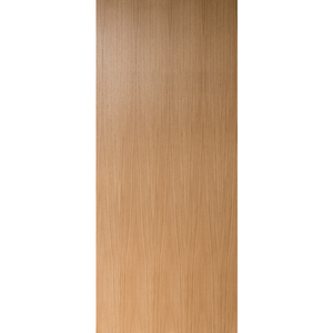 Flush Unfinished Rift Cut White Oak Commercial Fire Rated Door