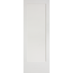 Interior Flat 1-Panel Shaker Primed Door