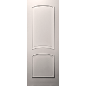 Paint Grade 20-Min Fire Rated 2-Arch Panel Primed Door