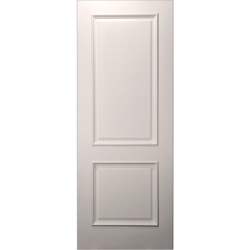 Paint Grade 20-Min Fire Rated 2-Panel Square Top Primed Door