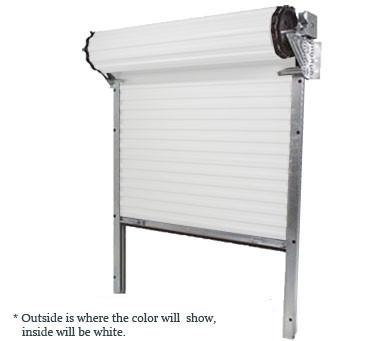Mini Self Storage Roll Up Door 6' W x 7' H (Model 650)