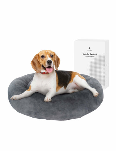 Petlibro Cuddler Round Memory Foam Pet Bed - Petlibro