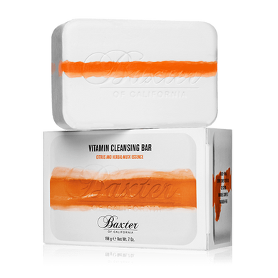 Baxter of California Vitamin Cleansing Bar - Citrus/Herbal Musk