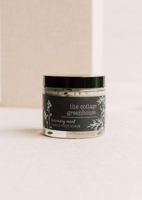 Cottage Greenhouse Foot Scrub 4oz