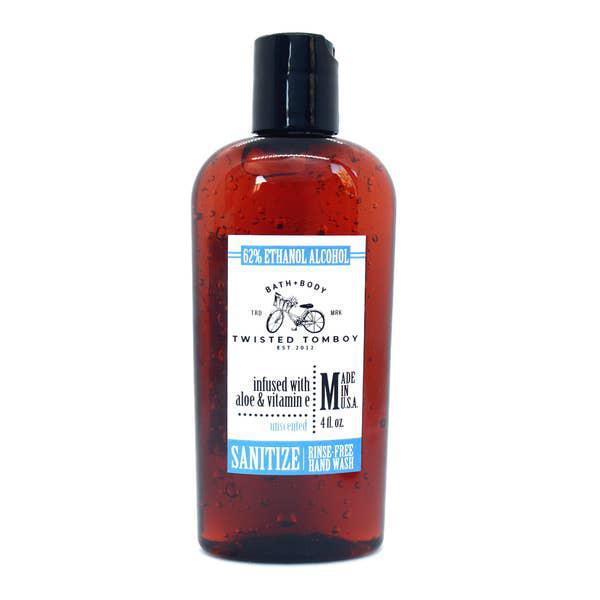 Twisted Tomboy Hand Sanitizer 4oz Unscented