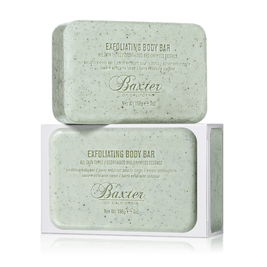 Baxter Of California Exfoliating Body Bar - Cedarwood & Oakmoss Essence