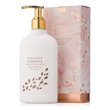 Thymes Gold Leaf Gardenia Body Lotion