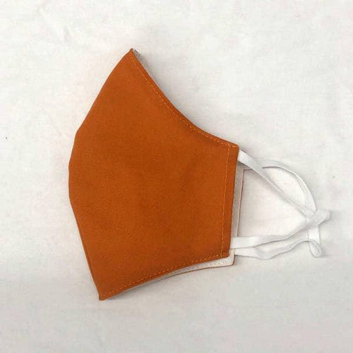 Face Mask With Filter - Orange