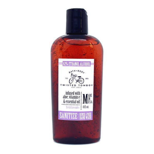 Twisted Tomboy Hand Sanitizer 4oz Fresh Lavender