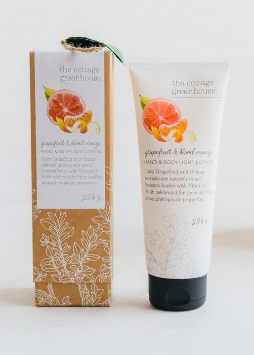 Cottage Greenhouse Grapefruit & Blood Orange Hand & Body Lotion 8oz