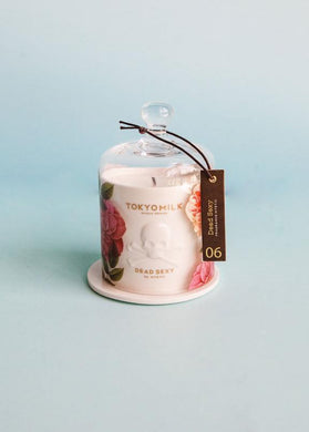 TM  Dead Sexy Ceramic Candle with Cloche | Mystic