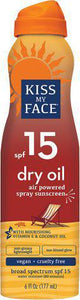 Dry Oil spf15 Air-powered Spray Sun screen 6oz