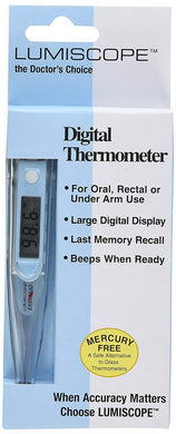 Lumiscope Digital Thermometer