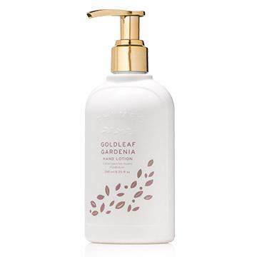 Thymes Gold Leaf Gardenia Hand Lotion