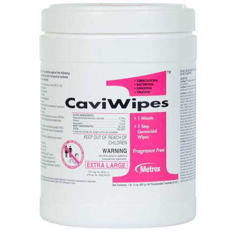 Cavi 1 Wipes - Extra Large - 65 ct