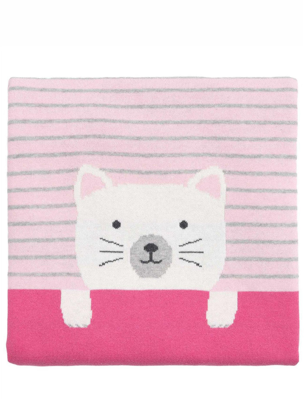 Kitty Knittie Blanket