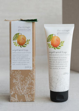 Cottage Greenhouse Sungold Apricot & Sage Lotion 8oz